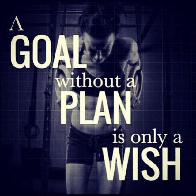 Exceptionnel A Goal Without A Plan Is Only A Wish
