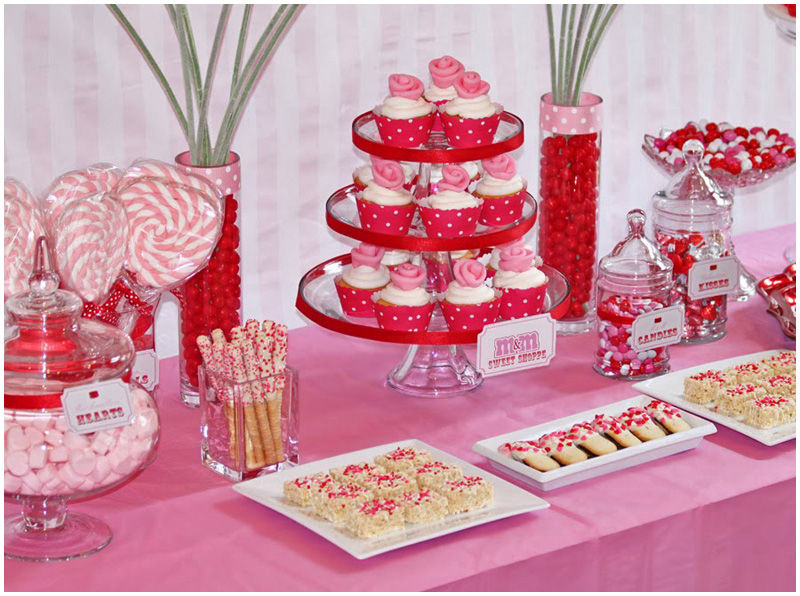 kids valentine 39 s day party table pictures photos and images for facebook tumblr pinterest. Black Bedroom Furniture Sets. Home Design Ideas