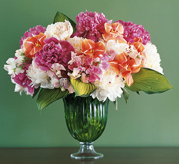 peonies tulips and sweet peas pictures photos and images for