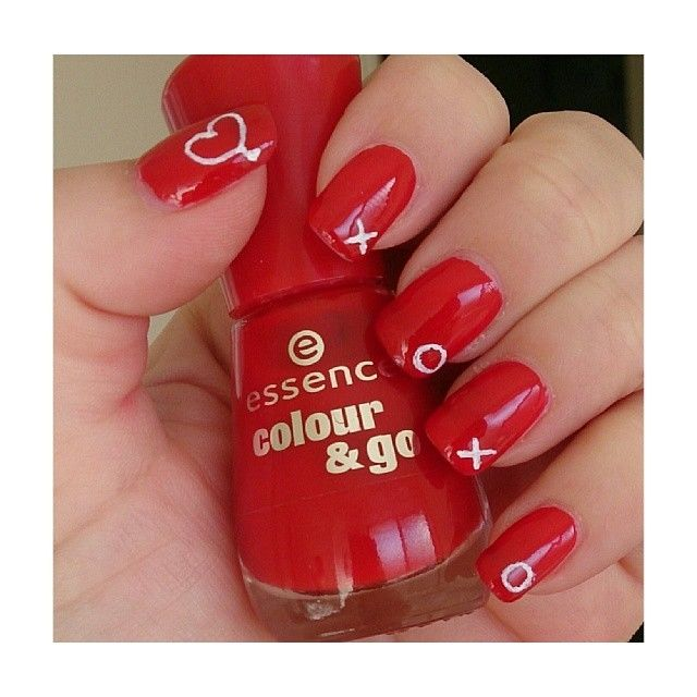 nail art xoxo