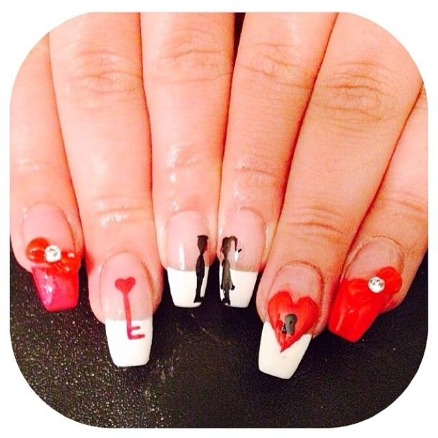 Here Comes The Bride With Some Awesome Nails: Be My Valentine Nails Pictures, Photos, And Images For