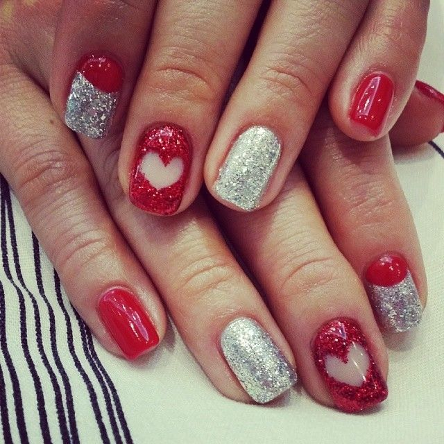 Heart Glitter Nail Art Pictures, Photos, and Images for Facebook ...