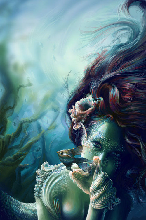 Painted Mermaid Pictures, Photos, and Images for Facebook ...