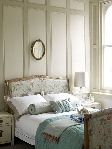 Floral Delicate And Feminine Bedroom