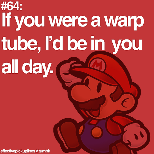 If You Were A Warp Tube Id Be In You All Day Pictures Photos – Mario Valentines Cards
