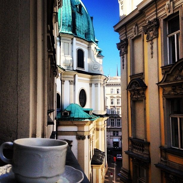Morning Coffee View In Austria Pictures Photos And