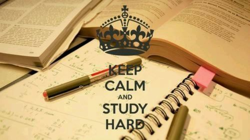 Keep Calm And Study Hard Pictures Photos And Images For