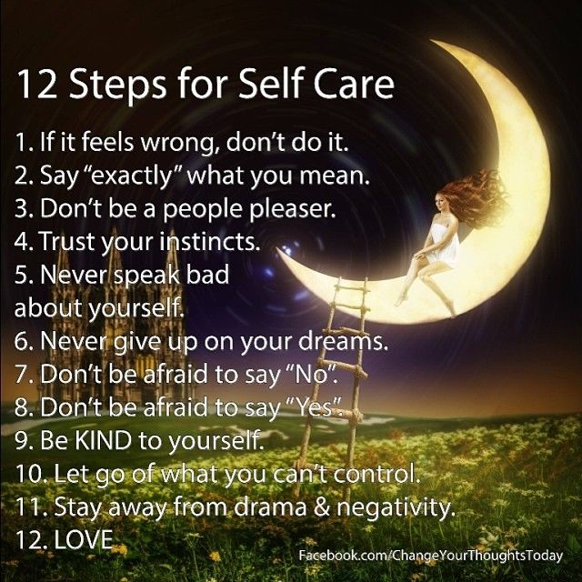 12 steps of self care pictures photos and images for