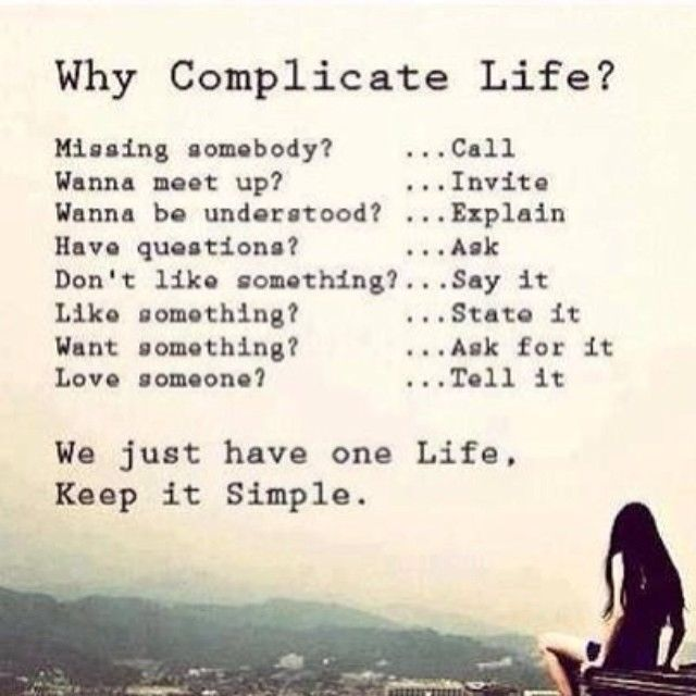 We Just Have One Life, Keep It Simple Pictures, Photos