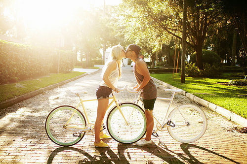 Kissing On Bikes Pictures, Photos, and Images for Facebook