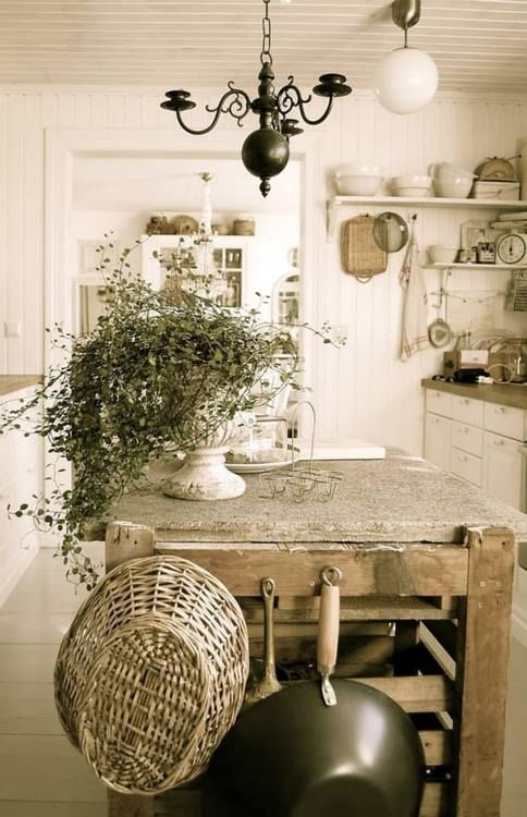 Old country kitchen pictures photos and images for facebook tumblr pinterest and twitter Cottage home decor pinterest
