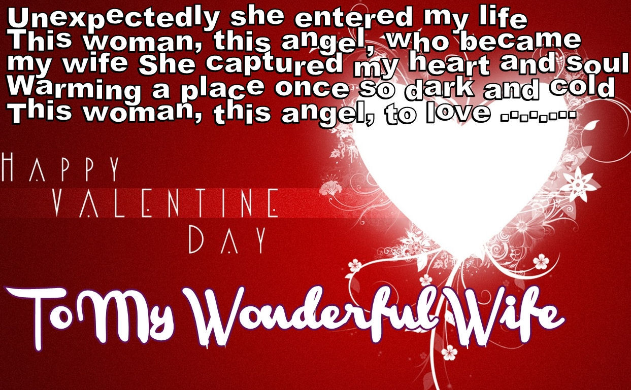 Valentines Day Quotes For Wife Happy Valentines Day To My Wife Pictures Photos And Images For