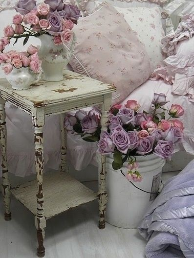 Lavender Shabby Chic Bedroom