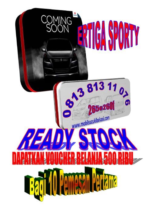 Harga, DP, Cicilan, Paket Kredit dan Cashback Suzuki Ertiga Sporty 2014 | Jualan Mobil