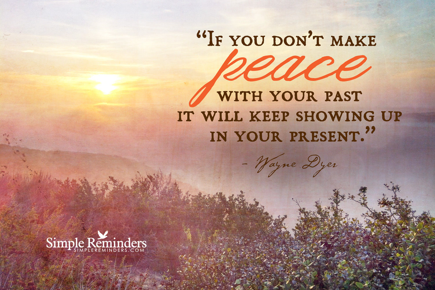 Quote About Your Past: Peace With Your Past Pictures, Photos, And Images For