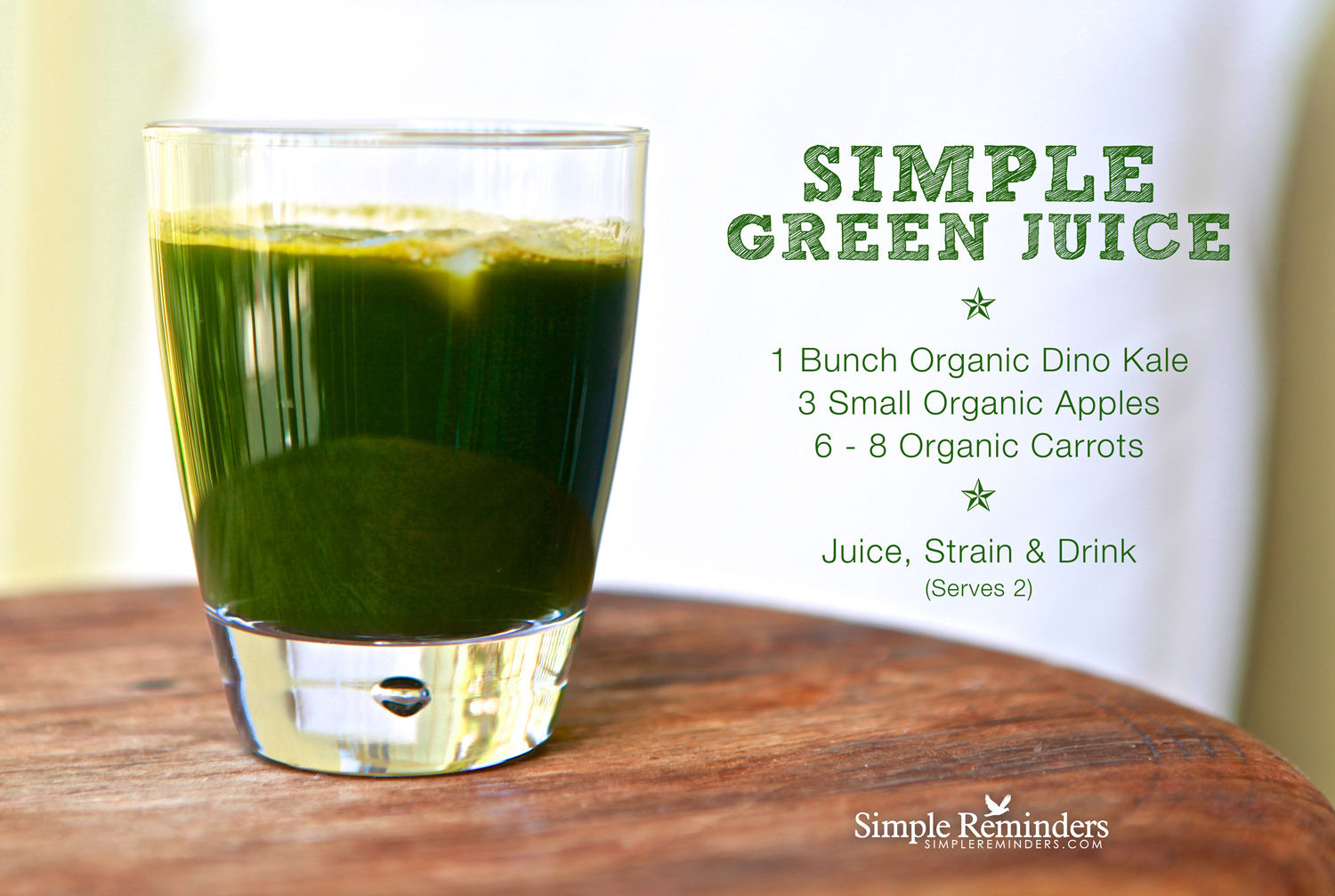 Simple Green Juice Recipe — Dishmaps
