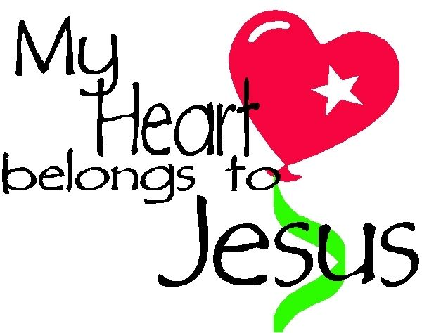 Image Of My Heart Belongs To Jesus