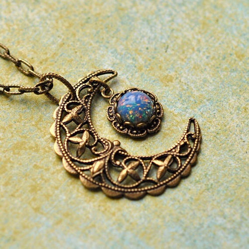 Boho gypsy necklace