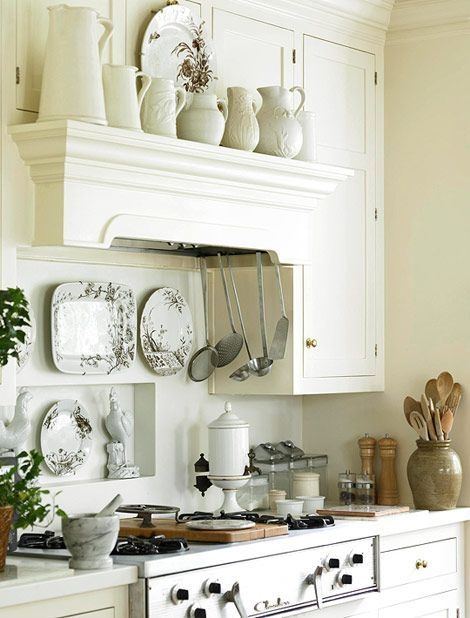 All White Cottage Kitchen Pictures, Photos, and Images for ...