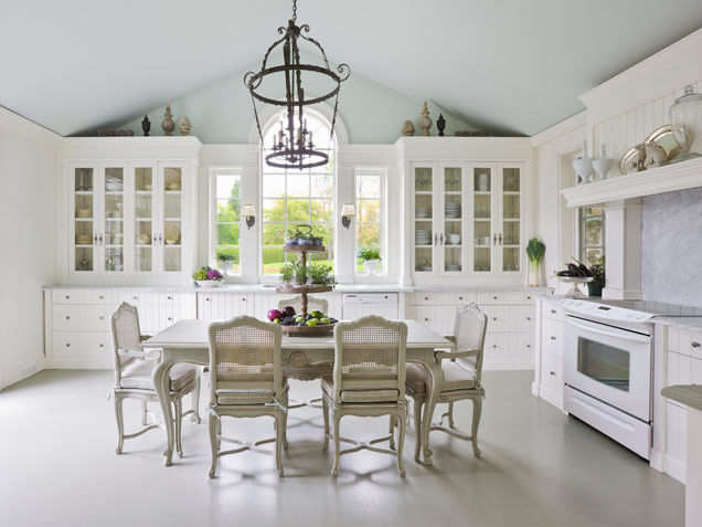 Elegant All White Kitchen Pictures Photos And Images For