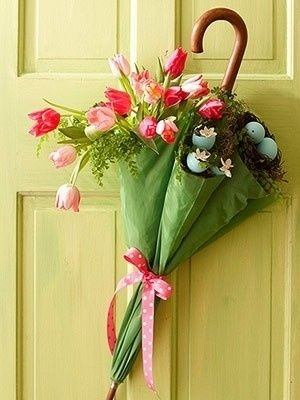 Easter Spring Door Decoration Pictures Photos And Images For