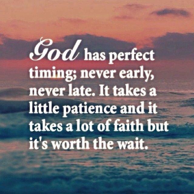 Best God Quotes Tumblr: God Has Perfect Timing Pictures, Photos, And Images For