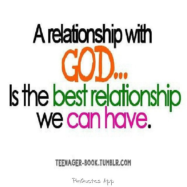 better relationship with god