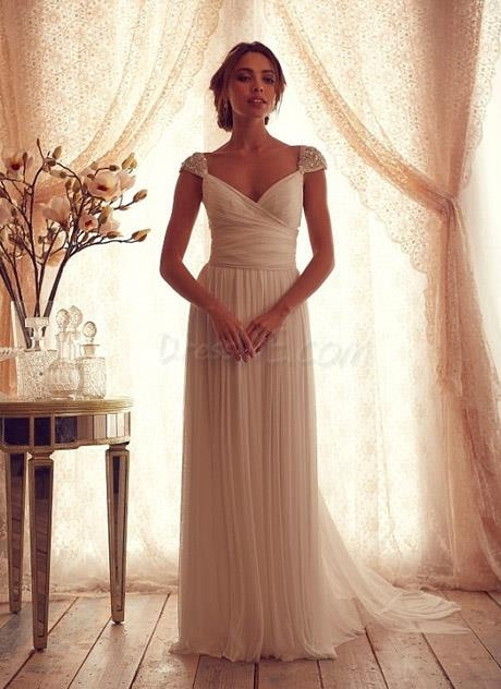 Simple Beach Wedding Dresses Pinterest 110