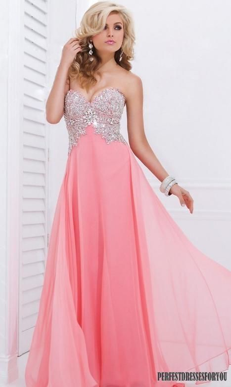 Long Pink Prom Dress Pictures, Photos, and Images for Facebook ...