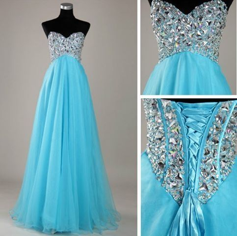 Bright Blue Formal Dress Pictures, Photos, and Images for ...
