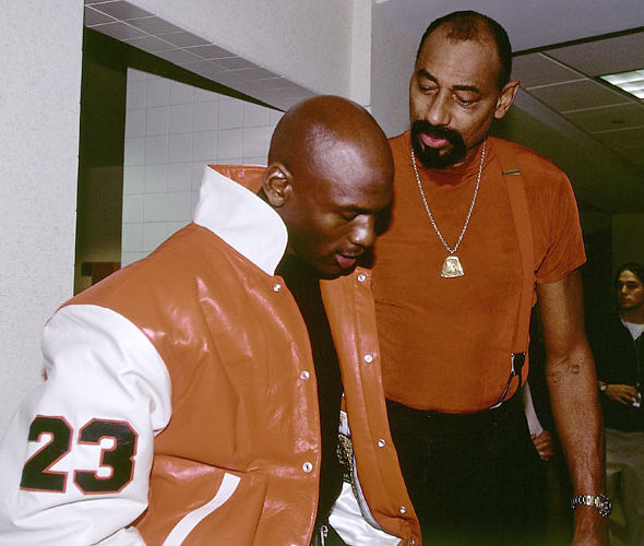 Rookie Season MJ23 And Wilt Chaimberland Pictures, Photos