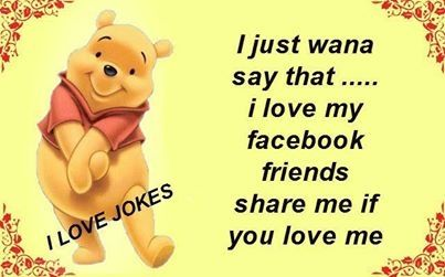 I Love You Quotes Facebook : Love You Friend Quotes For Facebook i love my facebook friends ...