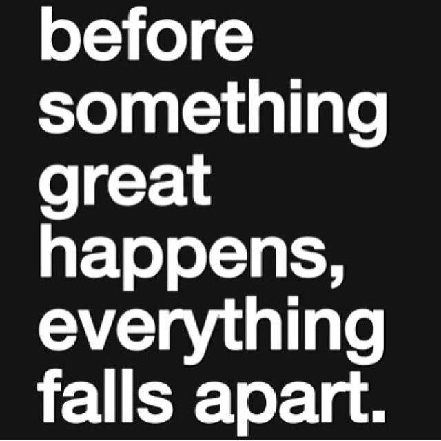 Everything Falls Apart