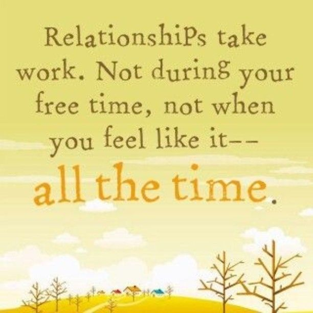 Relationships: Relationships That Work