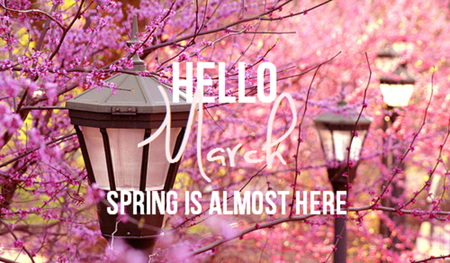 f522bfbc6f353 Hello March, Spring Is Almost Here Pictures, Photos, and Images for ...