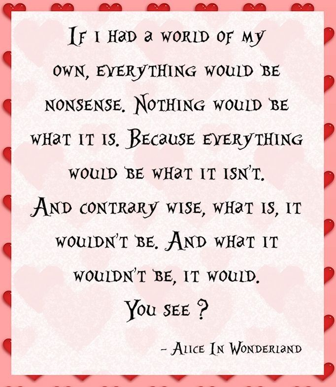 Quotes: Quotes From Alice In Wonderland. QuotesGram