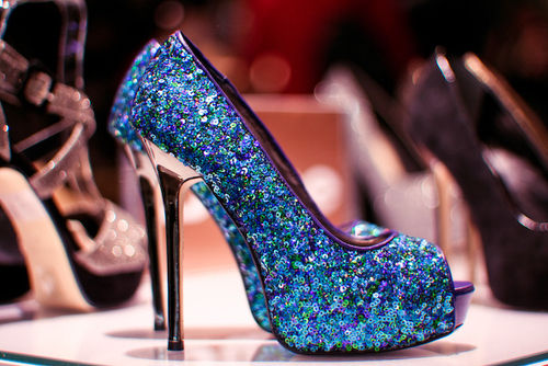 Sparkly Blue Glitter Heels Pictures, Photos, and Images for ...