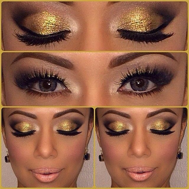 Gold Eye Shadow Pictures Photos And Images For Facebook Tumblr Pinterest And Twitter