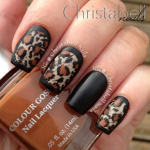 Black Leopard Nails Pictures, Photos, and Images for ...