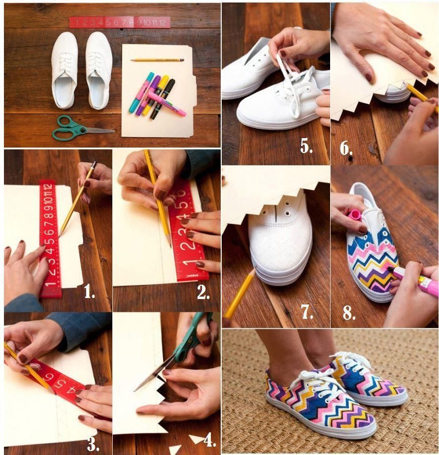DIY Fashion Craft Sneakers Pictures, Photos, and Images ...