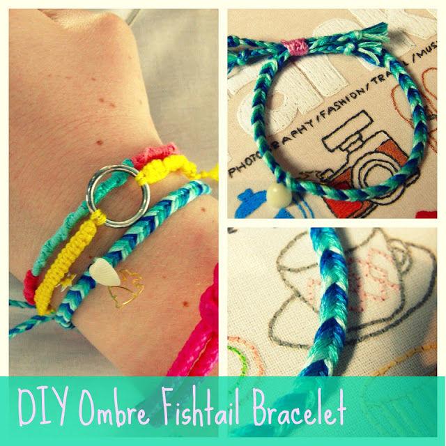 fishtail bracelet tutorial - photo #4