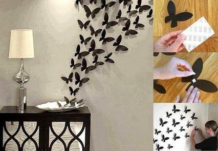 Diy Butterfly Wall Decor Pictures Photos And Images For Facebook