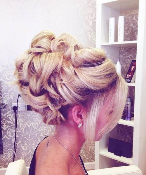 Tremendous Curly Bun Hairstyle Pictures Photos And Images For Facebook Short Hairstyles Gunalazisus