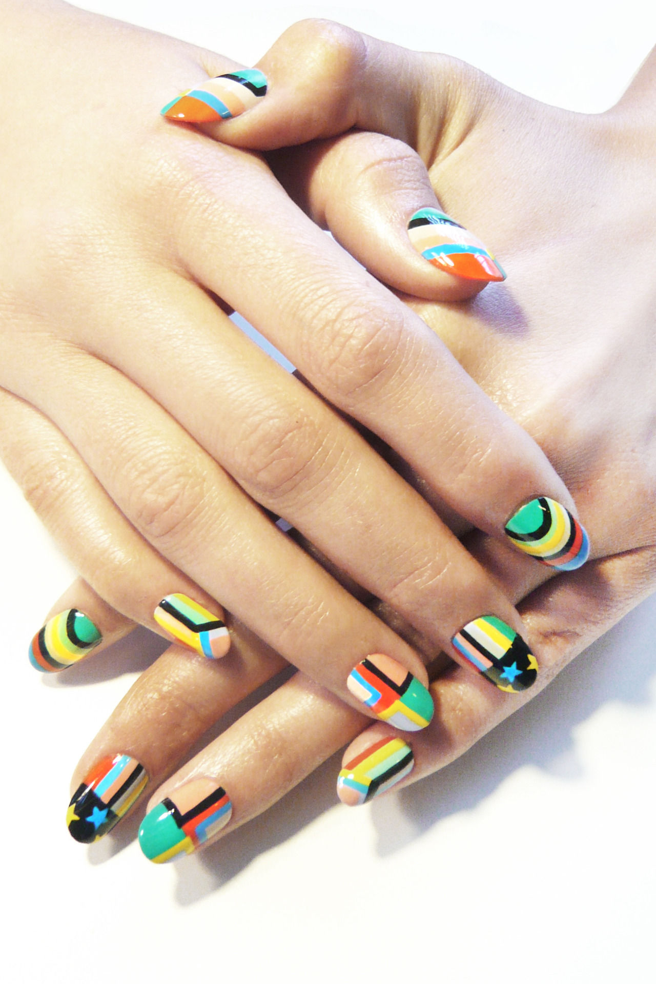 Colorful Designed Nails Pictures, Photos, and Images for Facebook ...