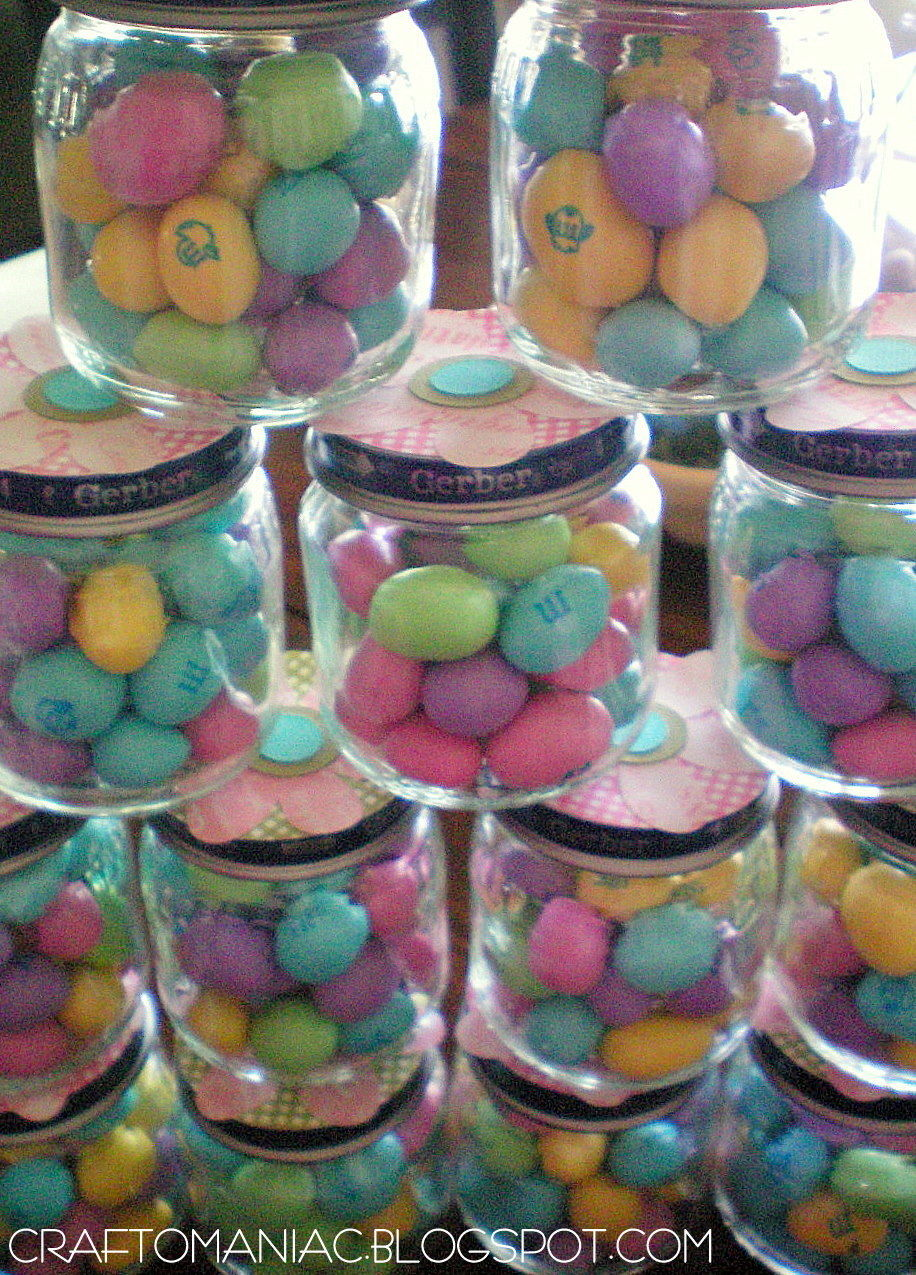 Baby Shower Easter Favors From Recycled Baby Food Jars Pictures