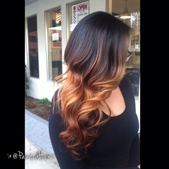 Painted hair ombre with long layers pictures photos and images painted hair ombre with long layers urmus Choice Image