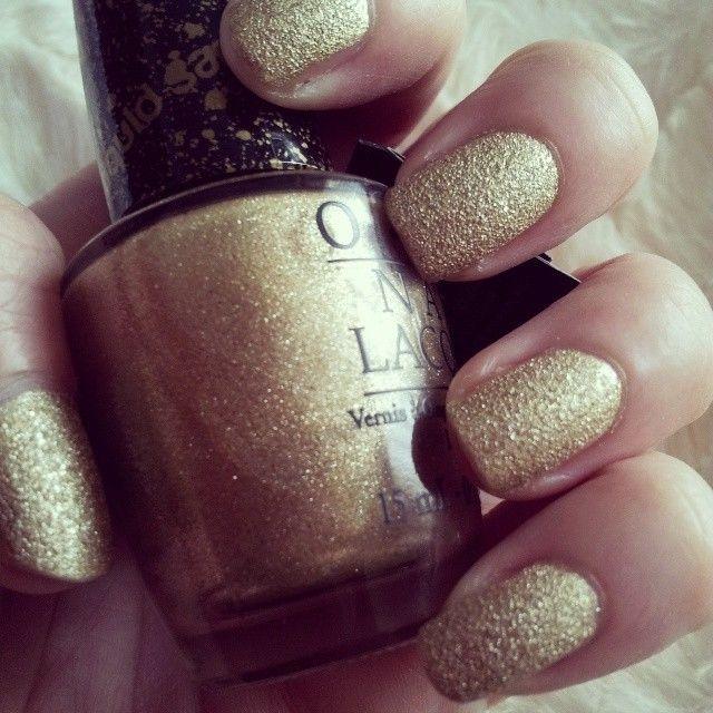 Opi Gold Nail Polish