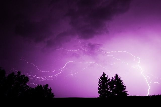 Purple Lightning Pictures Photos And Images For Facebook