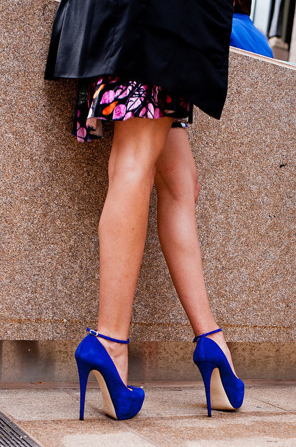 Royal Blue Suede Pumps Pictures, Photos, and Images for Facebook ...
