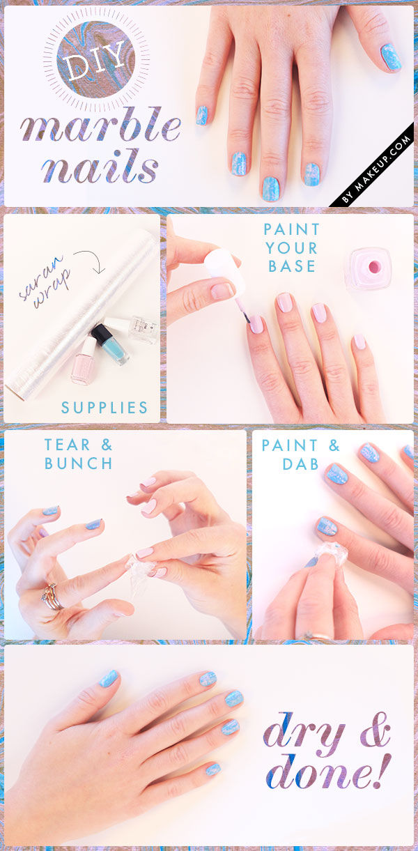 DIY Marble Nails Pictures, Photos, and Images for Facebook, Tumblr ...